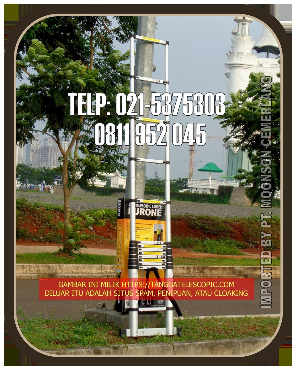 Tangga Telescopic 5M