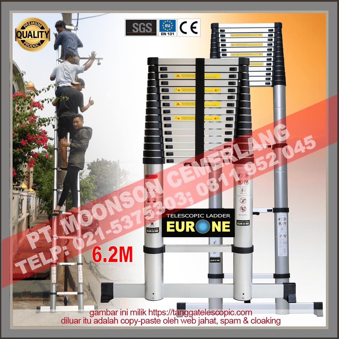 tangga teleskopik 6 meter