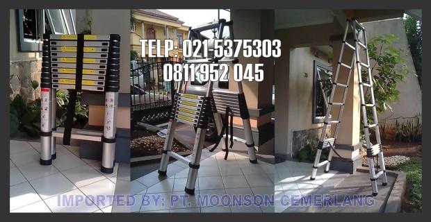 tangga telescopic lipat 3.2m
