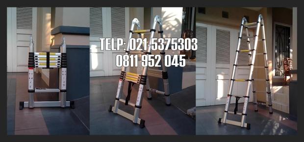 Tangga telescopic 4.4M Multifungsi