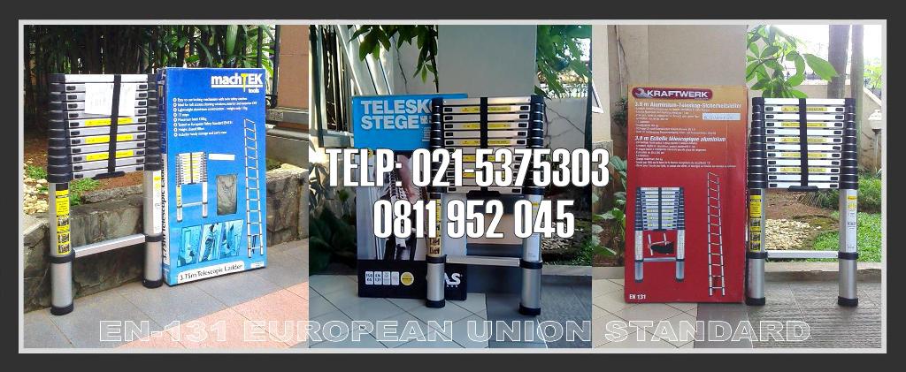 tangga telescopic Eropa
